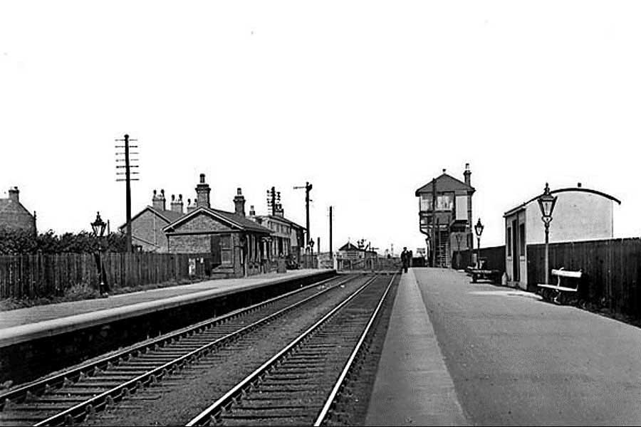 Usworth Station - Then.