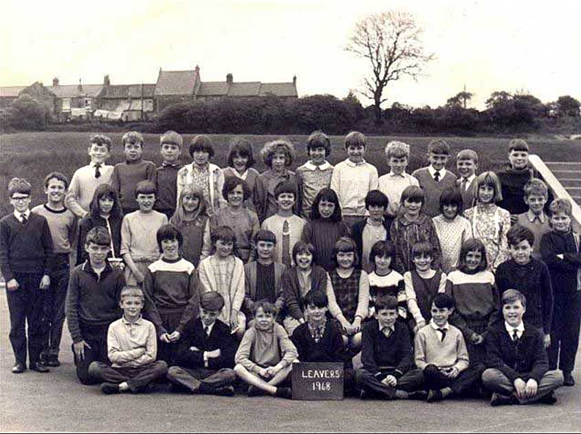 High Usworth School - Leavers 1968