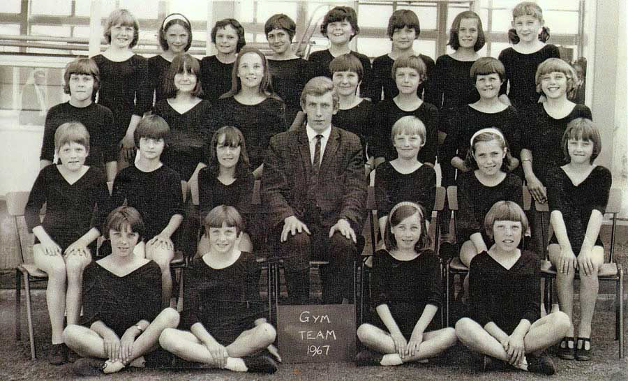 High Usworth Girls' Gym Team - 1967