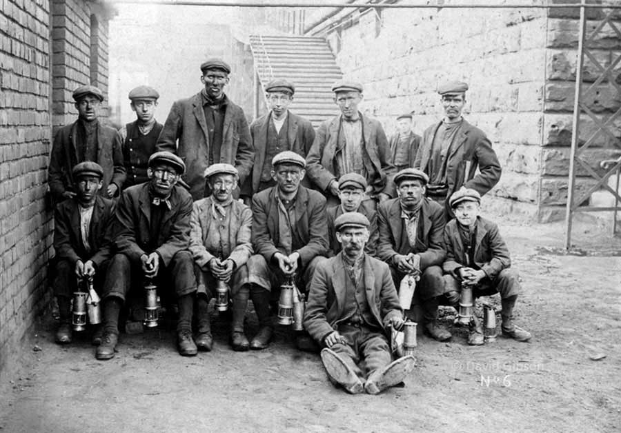 Usworth Colliery Miners - c.1907