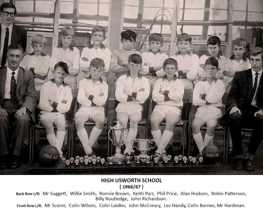 High Usworth Football Team - 1966/67