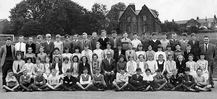 High Usworth Pupils - c1960/61