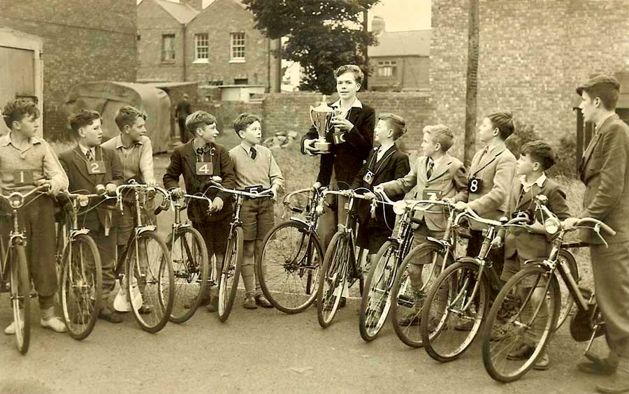Cycling Proficiency Tests 1956