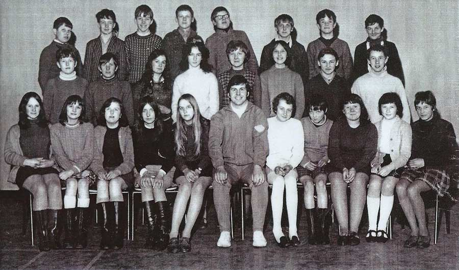 High Usworth School - Pupils 1969