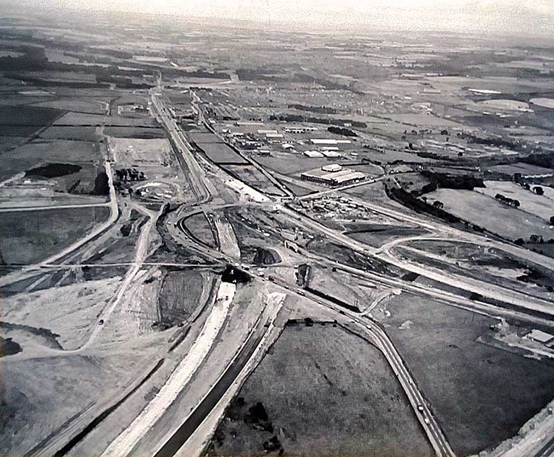 Junction 65 construction